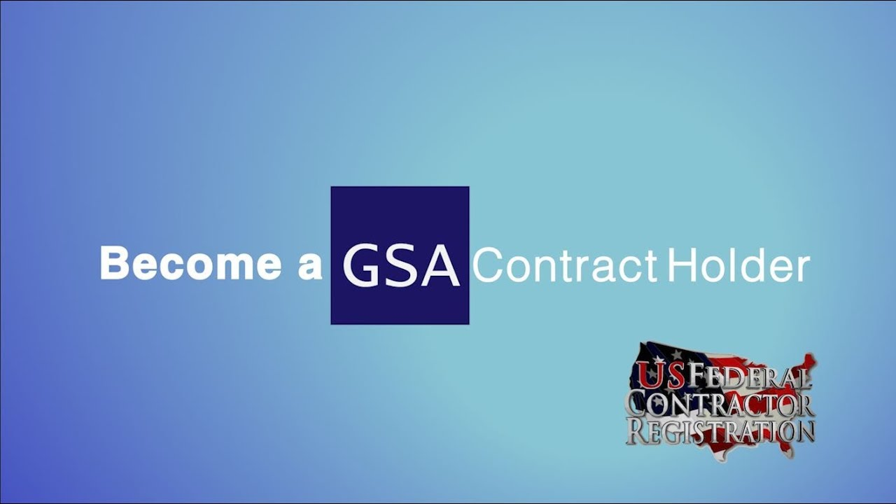 how to become a gsa contract holder