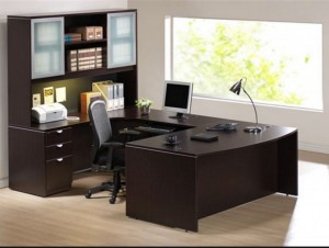 furniture in an office